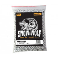 Snow Wolf BB pellets 4000 x 0.25g