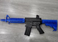 Golden Hawk M4 Spring Rifle in blue (2206 )