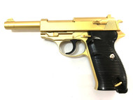 Galaxy G21 Full Metal Walther P38 in Gold
