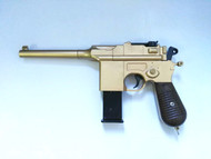Galaxy G12 Mauser Replica Pistol In Gold