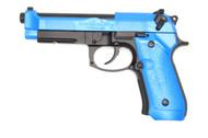 HFC HG-190 Gas Powered Co2 BB Gun Pistol in blue