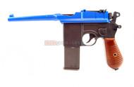 HFC HG-196 Mauser box cannon Gas powered pistol in orange