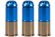 Nuprol 40mm Gas Grenade 120 Round in Blue - 3 pack