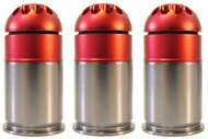 Nuprol 40mm Gas Grenade 72 Round in Red - 3 pack
