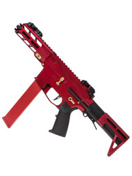 Classic Army Nemsis X9 SMG Full Metal in Red