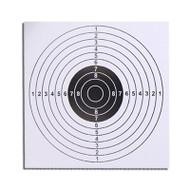 WoSport Airgun Paper targets, 100 x 14cm Targets (White)
