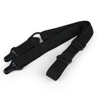 Wosport MS3 Two-point Airsoft Rifle Sling (Black)