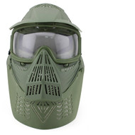 Wosport Transformers Ultimate Airsoft Mask with Clear Lens (Olive drab)