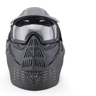 Wosport Transformers Ultimate Airsoft Mask with Clear Lens (Black)