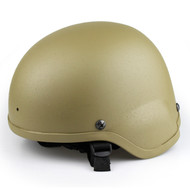 Wo Sport MICH 2000 Combat Airsoft Helmet (Desert Tan)