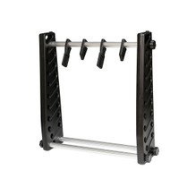 "Wosport Med 20"" Inch Airsoft Gun Rack System (Black)"