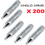 Anglo Arms Airsoft CO2 Capsule x 200 pc