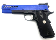 Army Armament R30-2 Custom M1911 GBB Pistol (Blue)