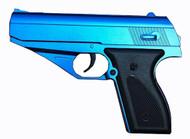 Vigor V7 PPK Replica Metal Spring Pistol in Blue