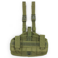 WoSport Molle Leg Holster in Multi Cam