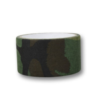 Wosport Fabric Tape 50mm wide (Woodland Dpm)