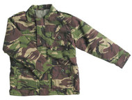Kids Safari Jacket in dpm camo