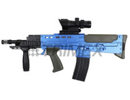 Vigor L86A2 SA80 replica bb gun rifle in blue