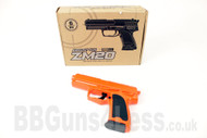 CYMA ZM20 Metal BB Gun Spring Pistol replica in orange
