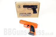 CYMA ZM20 Metal BB Gun Spring Pistol replica in orange