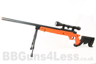 Well MB04 Airsoft  Sniper rifle in orange G22 AWM