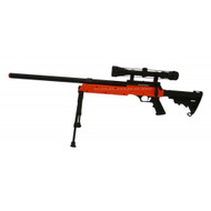 Well MB06  Airsoft Sniper rifle in orange