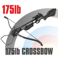 Anglo Arms Jaguar Black Standard Crossbow Set 175lb