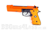 HFC HG193 airsoft pistol in two tone orange