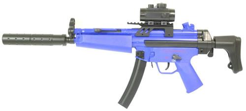 Cyma CM023 MP5 Airsoft gun in blue