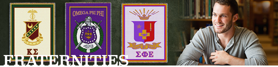 Big Selection of Fraternity Woven Blankets