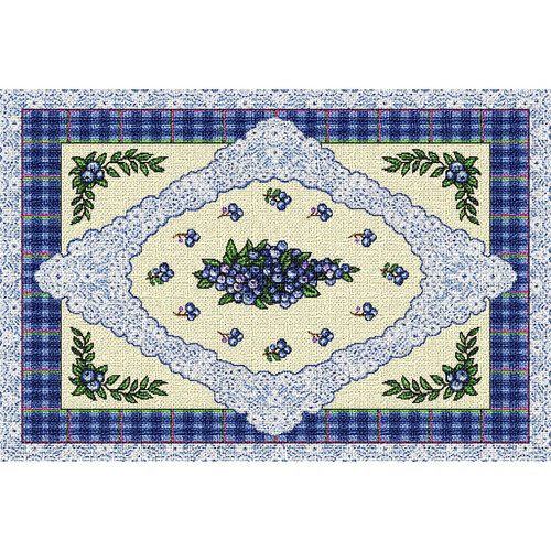 Blueberry Lace Placemat Placemat