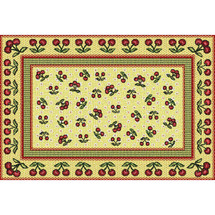 Cherries Jubilee Placemat Placemat