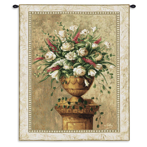 Pure Country Weavers - Spring Expression Hand Finished European Style Jacquard Woven Wall Tapestry. USA Size 53x38 Wall Tapestry