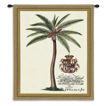 Princess Of Wales -Woven Tapestry Wall Art Hanging For Home Living Room & Office Decor - Royal Palm For Frederick Prince Of Wales - 100% Cotton - USA Wall Tapestry