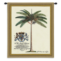 Prince Of Wales - Woven Tapestry Wall Art Hanging For Home Living Room & Office Decor - Royal Palm For Frederick Prince Of Wales - 100% Cotton - USA Wall Tapestry
