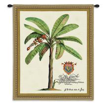 Duke of Chaulnes | Woven Tapestry Wall Art Hanging | Minimalist Palm Tree Artwork | 100% Cotton USA Size 34x27 Wall Tapestry