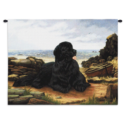 Pure Country Weavers - Newfoundland Hand Finished European Style Jacquard Woven Wall Tapestry. USA Size 26x34 Wall Tapestry