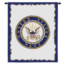 Navy Wall Tapestry Wall Tapestry