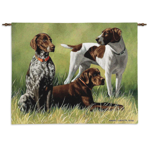 Pure Country Weavers - Variations On A Breed Hand Finished European Style Jacquard Woven Wall Tapestry. USA Size 26x34 Wall Tapestry