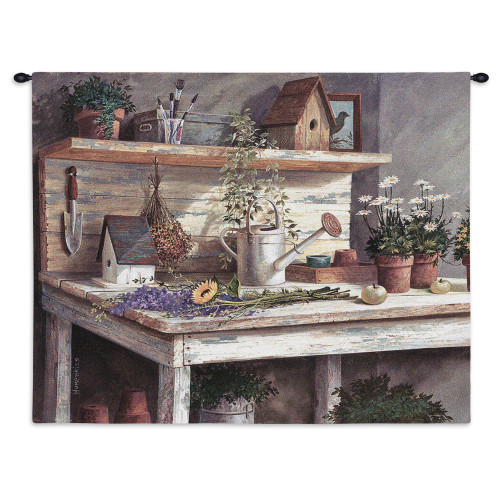 Pure Country Weavers - Simple Pleasures Hand Finished European Style Jacquard Woven Wall Tapestry. USA Size 26x32 Wall Tapestry