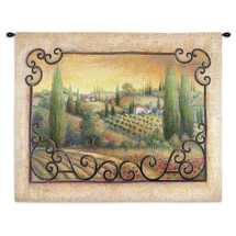 Visions Of Tuscany Wall Tapestry Wall Tapestry