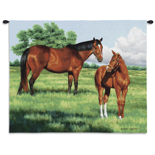 Pure Country Weavers - My Pride Hand Finished European Style Jacquard Woven Wall Tapestry. USA Size 26x34 Wall Tapestry