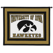 The University of Iowa Wall Tapestry Wall Tapestry