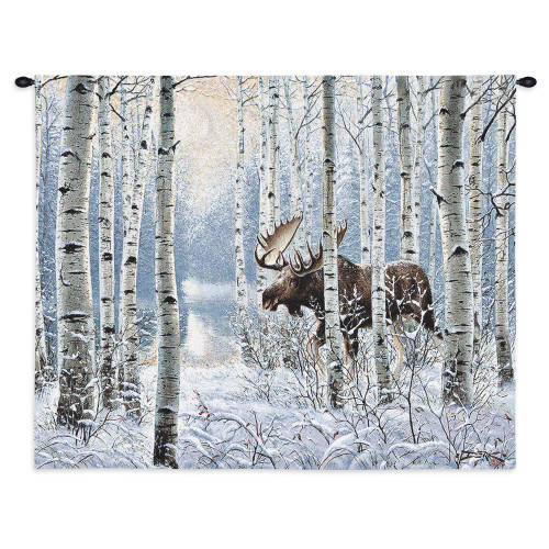 Pure Country Weavers - On The Move Hand Finished European Style Jacquard Woven Wall Tapestry. USA Size 26x34 Wall Tapestry