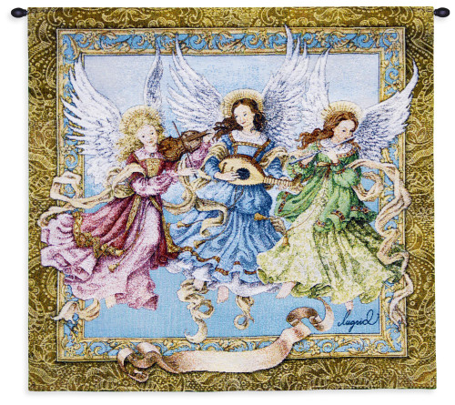 Angelic Trio Wall Tapestry Wall Tapestry