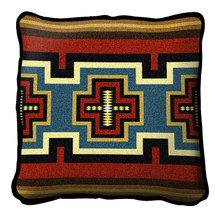 Sarkoy Hand finished Woven Pillow by Pure Country Weavers.  Made in the USA.  Size 17 x 17 Woven to Last a Lifetime Pillow
