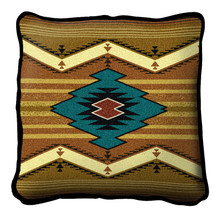 Maimana Hand finished Woven Pillow by Pure Country Weavers.  Made in the USA.  Size 17 x 10 Woven to Last a Lifetime Pillow