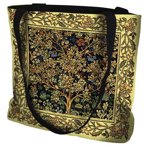 Tree of Life Bag Midnight Blue Tote Bag Tote Bag