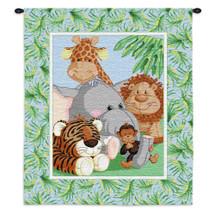 Stuffed Safari Wall Tapestry Wall Tapestry