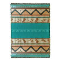 Pueblo Sunset Blanket Tapestry Throw